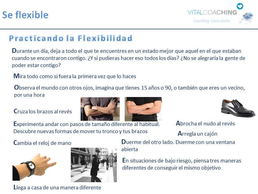 Flexibilidad y Creatividad Coaching