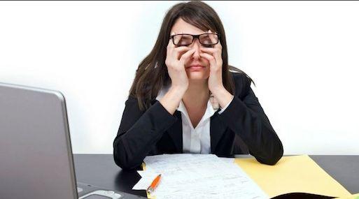 evitar estrés en la oficina