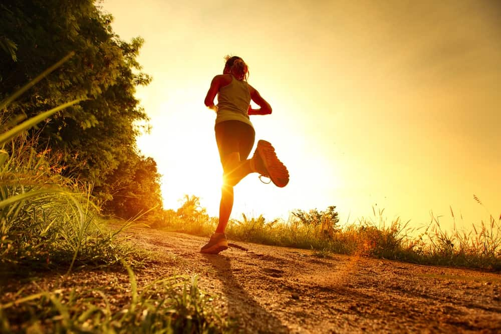 meditar mientras corres